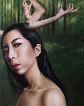 艾拉斐爾斯 91×72.5cm oil on canvas 2016