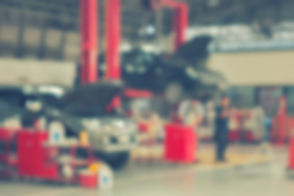 Blurred background of technician repairi