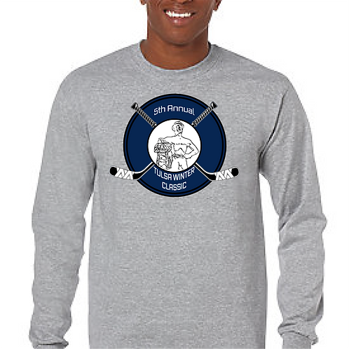 Youth or Adult Cotton Long Sleeve Shirt