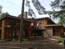 Термоясень. Фасады из дерева