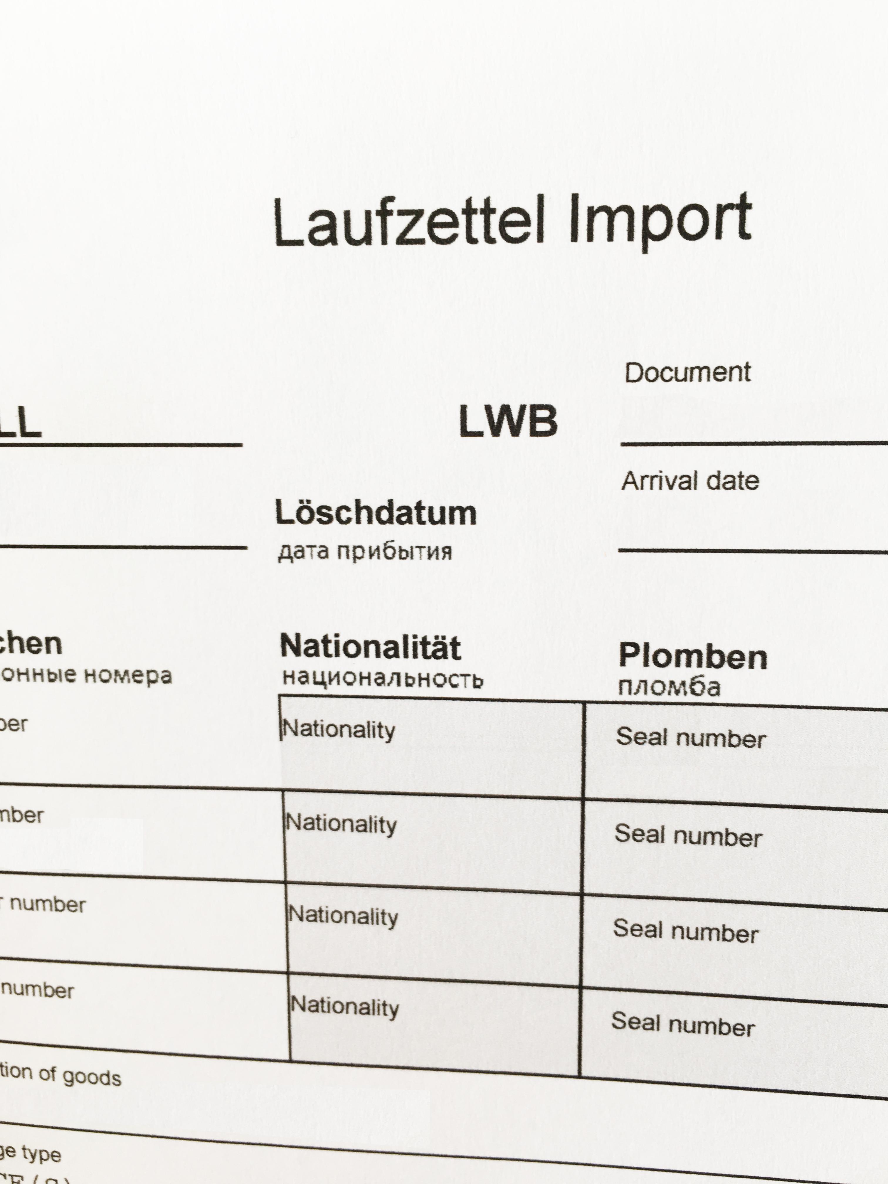 AW Logistics GmbH - Zollabfertigung