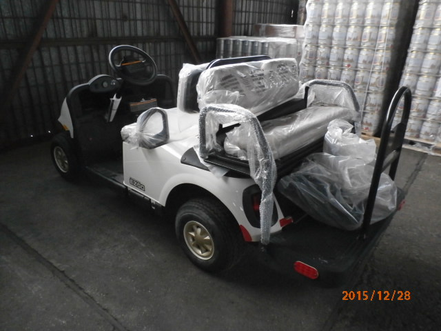 Warehousing- Golf Car Transportation