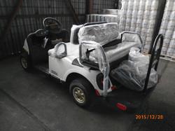 Warehousing- Golf Car Transportation