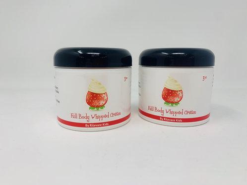 (2) Full Body Whipped Cream