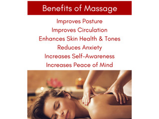 Eating healthy and working out is important but we also believe massage is also very important for a