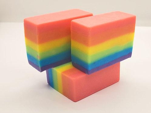 Rainbow Fleet Soap
