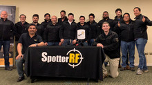 Spotter RF, certificación de fabrica.