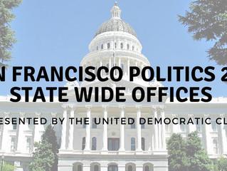 February 26th - San Francisco Politics 201