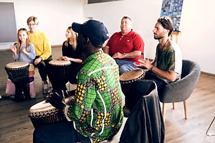 Djembe-Trommelworkshop