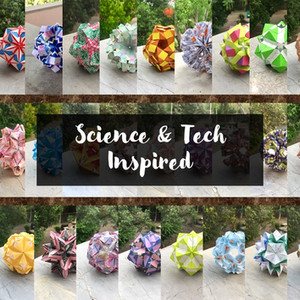 29 Science & Technology Inspired Kusudama