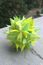 Lemongrass Kusudama