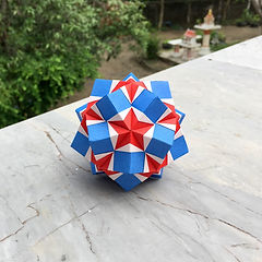 Star Pocket Kusudama
