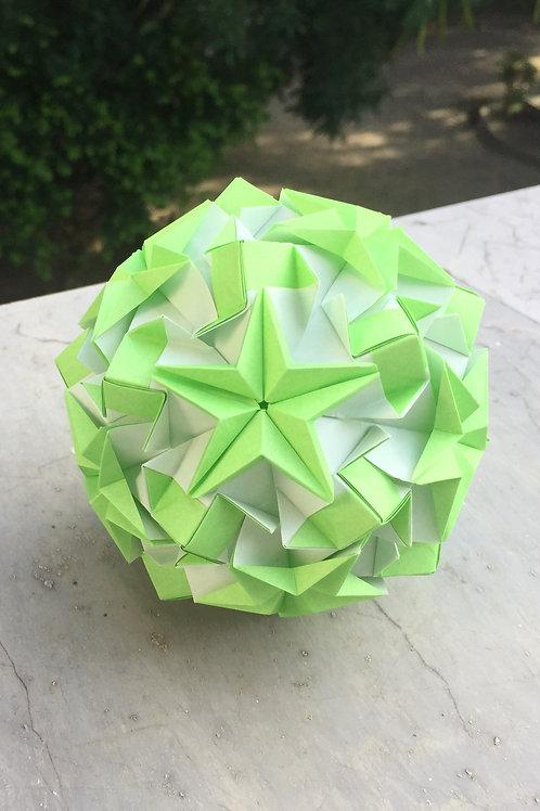 Lime Kusudama