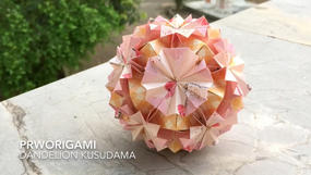 Dandelion Kusudama