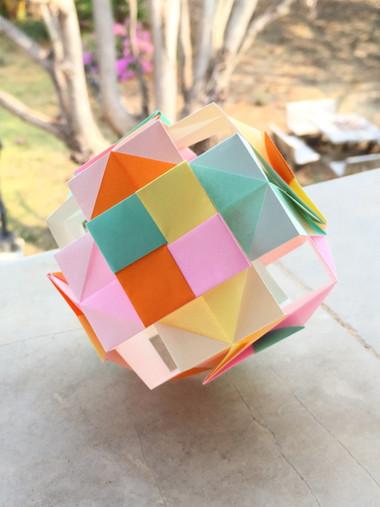Mosaic Box Kusudama