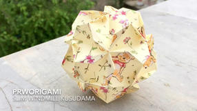 Slim Windmill Kusudama
