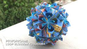 Loop Blossom Kusudama