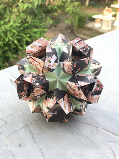 Simple Star Kusudama