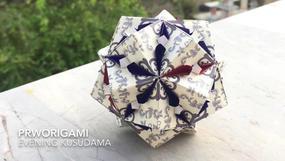 Evening Kusudama