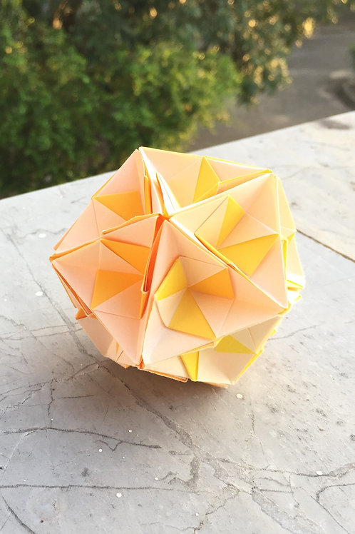 Lemon Kusudama