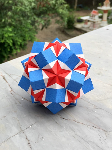 Star Pocket Kusudama