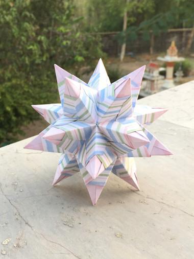 Bascetta-Becker Star Kusudama