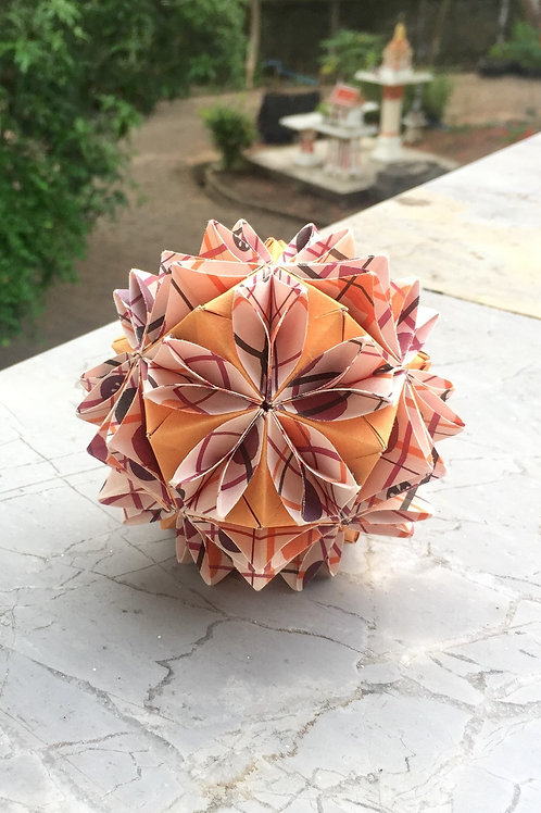 Sunflower Seed Kusudama