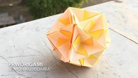 Lemon Kusudama