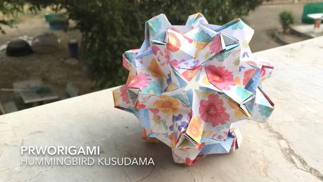 Hummingbird Kusudama