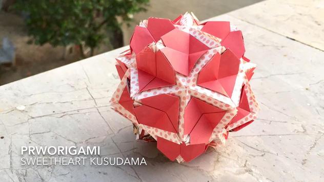 Sweetheart Kusudama