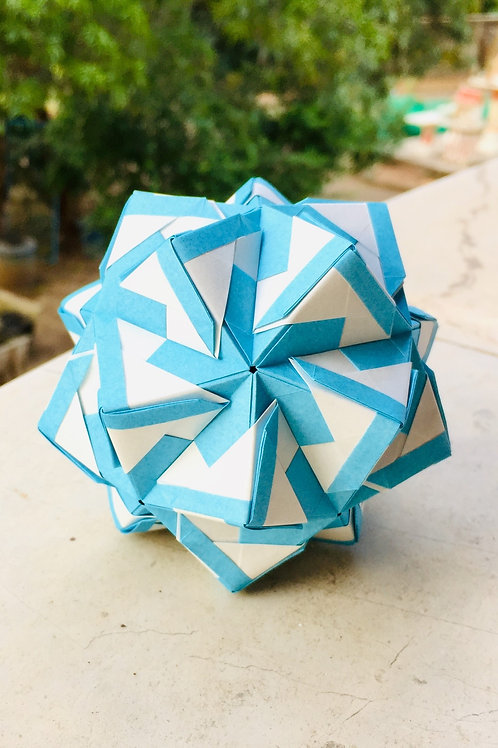Stained Glass Kusudama