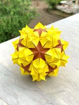 Sunflower B Kusudama