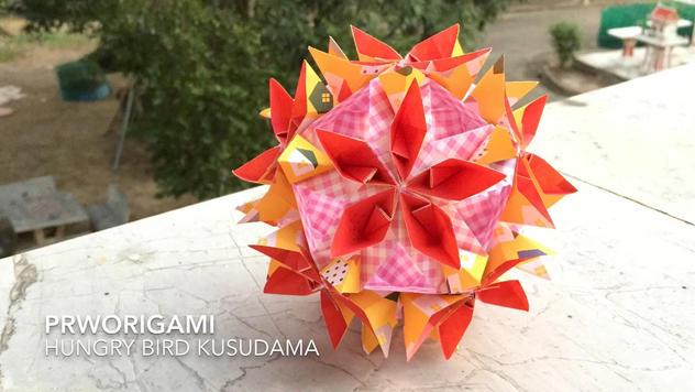 Hungry Bird Kusudama