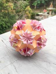 Carnation Kusudama