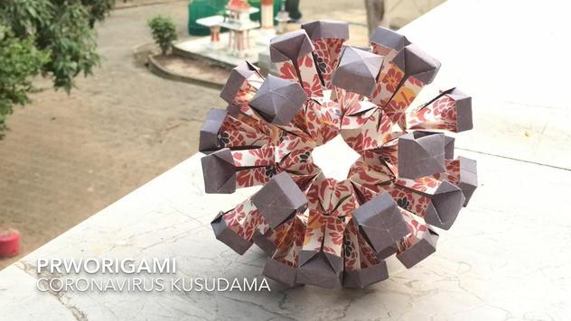Coronavirus Kusudama