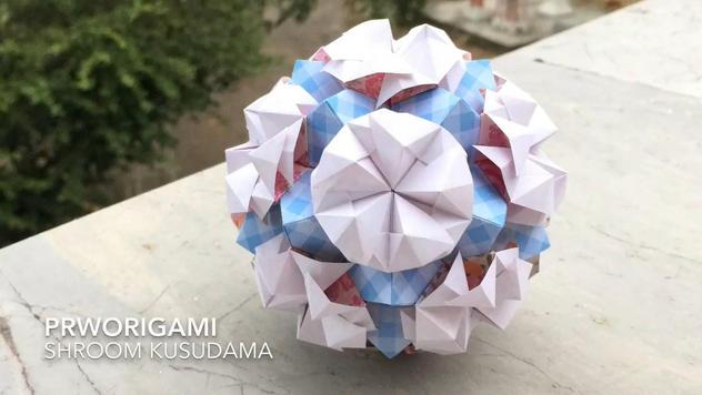 Shroom Kusudama