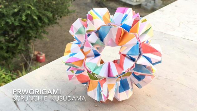 Scrunchie Kusudama