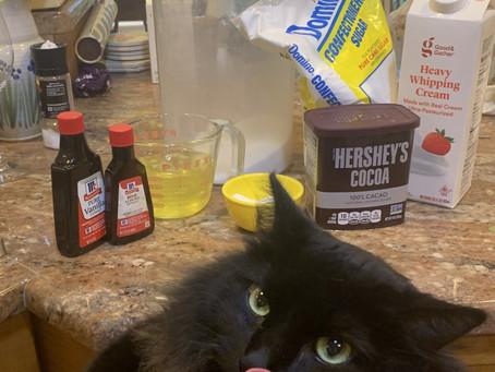 Chocolate Pavlova Cake; Hagrid Approved.