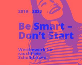 Be Smart - Don't Start: Wettbewerb für rauchfreie Schulklassen geht in die nächste Runde