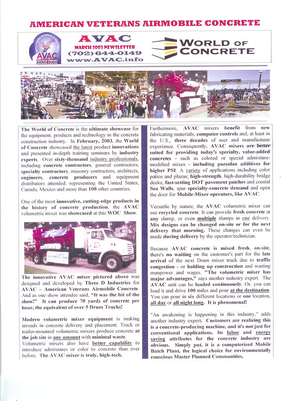 AVAC Newsletter-World of Concrete (2).jp