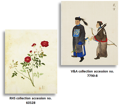 Imaging and Sensing for Archaeology, Art History and Conservation (ISAAC) study of Chinese export paintings