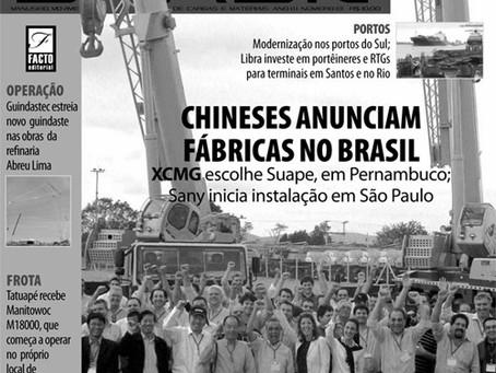 A Guindastec é destaque na revista Crane Brasil