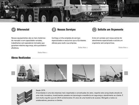 A Guindastec lança seu novo site.