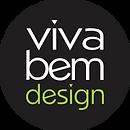 LOGO - VIVA BEM PRETA - FUNDO REDONDO.pn