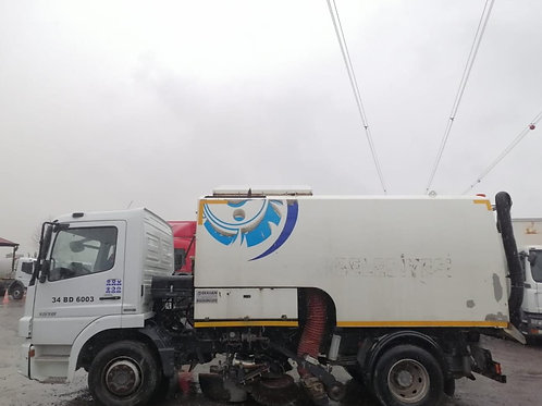 2015 MB Atego Road Cleaning Truck