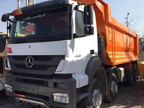2015 Mercedes Benz Axor 4140 Tipper Truck