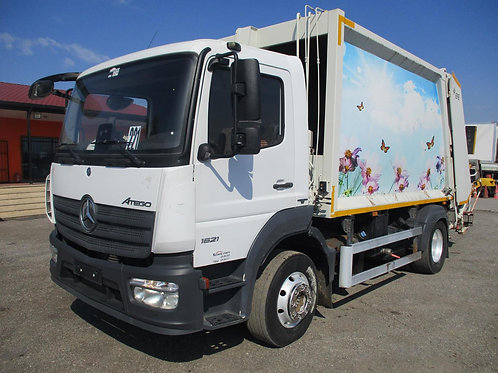 2017 Mercedes Benz Atego 1621 Garbage Truck