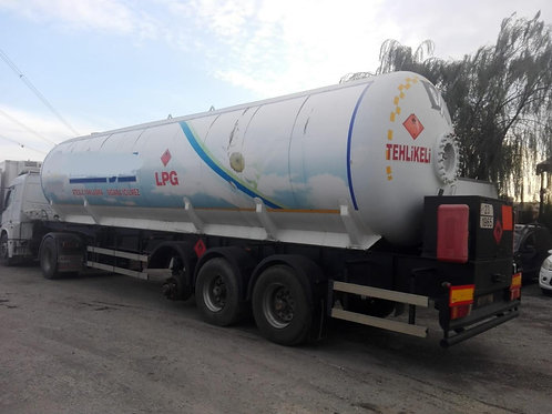 2005 LPG Road Tanker