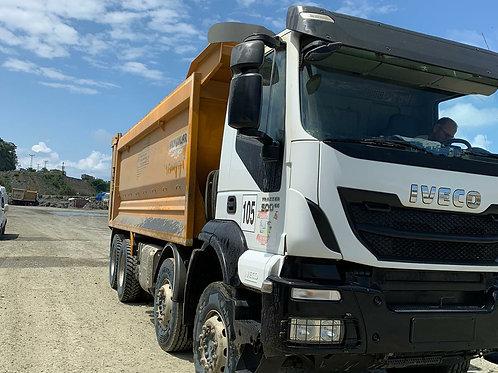 2019 Iveco Trakker 450 8x4  Tipper Truck