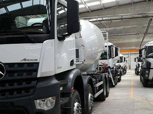 2020 Mercedes Benz Arocs 4142 (0 km) & 2020 Imer Mixer